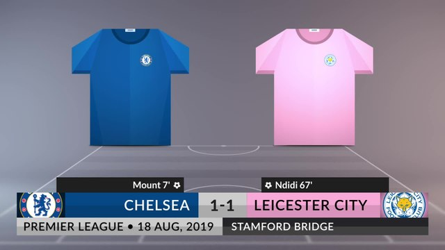 Match Review: Chelsea vs Leicester City on 18/08/2019