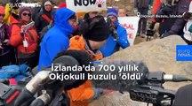 İzlanda: 700 yıllık buzul 'öldü', küresel ısınmanın adadaki ilk kurbanının anısına plaka bırakıldı