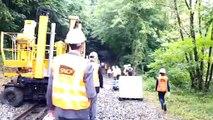 Besançon : visite de chantier de la SNCF