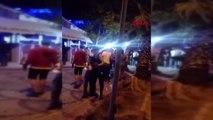BALIKESİR Eğlence mekanı önünde silahlı kavga 5 yaralı