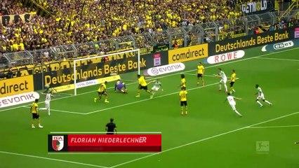 Dortmund 5-1 Augsburg (ÖZET)