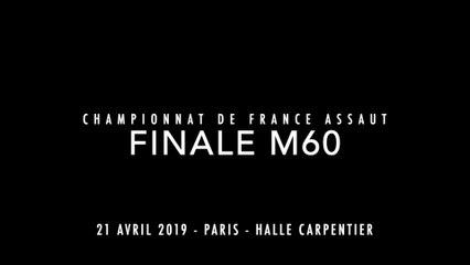 ASSAUT Finale  France 2019 -  M60 - PLACE Lorenzo / CALIZINGOUE Hypolyte