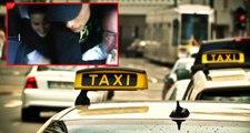 Taksicinin boğazına bıçak dayadı, kız arkadaşı ise gülerek paraları aldı