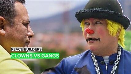 De clowns tegen de gangs in El Salvador