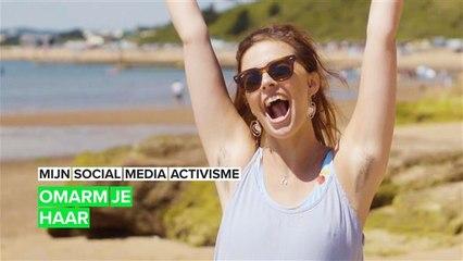 Mijn social media activisme: Mijn lichaamshaar geeft me kracht
