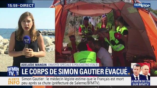 Le médecin légiste estime que Simon Gautier serait mort peu de temps après sa chute