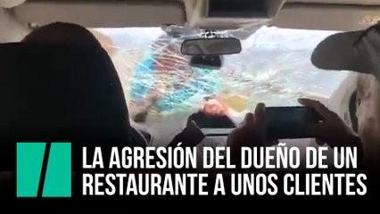 La agresión del dueño de un restaurante a unos clientes españoles