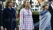 La reina Letizia y las infantas no se pueden ver ni en pintura
