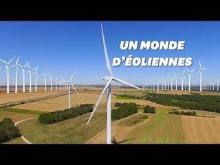 Grâce aux éoliennes, l'Europe aurait le potentiel d'approvisionner le monde en énergie