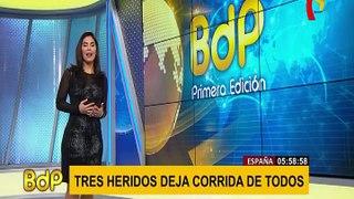 Panamericana Sur: bus interprovincial embistió micro para que avance