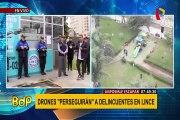 Lince presenta drones que ´perseguirán´ a delincuentes
