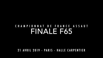 ASSAUT Finale France 2019 - F65 - BUGADA Marine / DEGOUY Florence