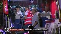 Espagne : des milliers de personnes évacuées après un incendie