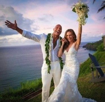 Dwayne 'The Rock' Johnson Marries Lauren Hashian