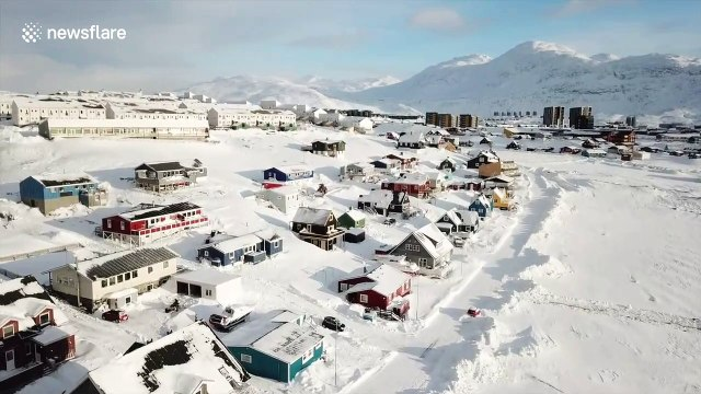 Trump wants to buy Greenland. This is what the capital Nuuk - population 17,000 - looks like
