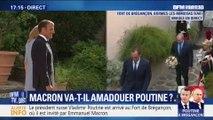 Macron accueille Poutine à Brégançon : Suivez leur prise de parole sur BFMTV