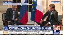 """Intervention russe en Libye: Vladimir Poutine """"espère avoir l'appui de la France"""""""