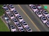 Pourquoi des centaines de Cadillac rose ont composé le cortège funéraire d'Aretha Franklin