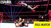 WWE Raw: Rey Mysterio vs. Andrade – Lucha 2-de-3-Caídas | Español Latino HD