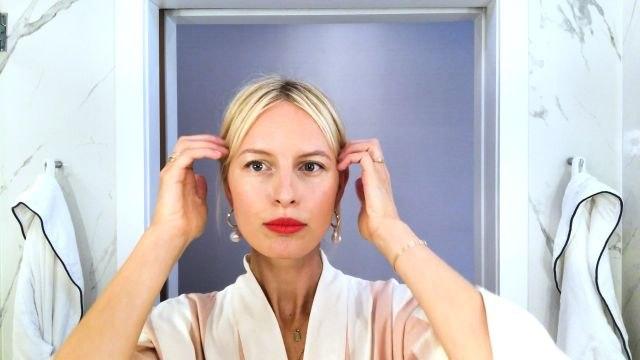 Karolína Kurková's Guide to Super Quick Supermodel Beauty