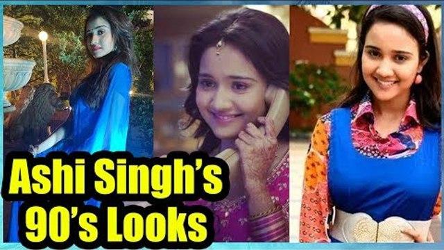 Yeh Un Dinon Ki Baat Hai actress Ashi Singh aka Naina's 90s look