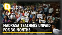 Madrasa Teachers Protest After Not Being Paid Salary for 30 Months