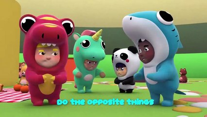 Learn The Opposite Song One Zeez Nursery Rhymes Children Music Karaoke===)(