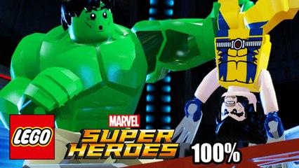 Lego Marvel Super Heroes прохождение часть 24 без комментариев {PC}