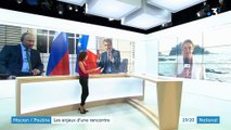 Macron / Poutine : une rencontre stratégique