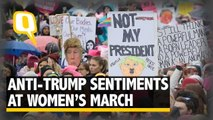 Naturally Nasty: Millions Speak out Against Trump at Women's March