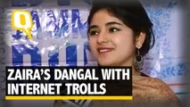 The Quint: Dangal's Zaira Wasim Forced to Downplay Her Fame as an Actor?