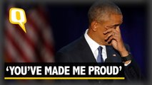 "The quint: ""You have made me proud,"" says Barack Obama to Michelle Obama"