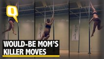 The Quint: This 8-Month Pregnant Pole Dancer is an Absolute Must Watch