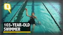 Dare to Compete with This 103-year-old Record Holding Swimmer?