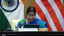 Pakistan needs to stop providing safe havens for terrorism : EAM Sushma Swaraj