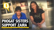 'Don't Be Scared': Geeta, Babita Phogat Support Dangal Actor Zaira`