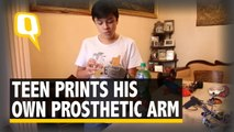 The Quint: 14-Year-Old 3D Prints His Own Prosthesis for Less Than Rs 6,000