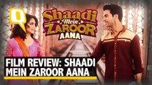 Shaadi Mein Zaroor Aana Review: This Shaadi is Not Worth Attending