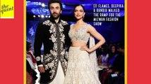 Deepika Padukone & Ranbir Kapoor Walk the Ramp for the 'Mijwan Fashion Show'