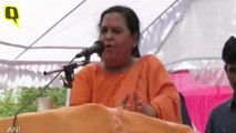 'I'm Not Lord Ram to Purify Dalits By Eating With Them': Uma Bharti