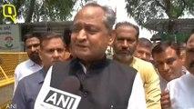 Congress Leader Ashok Gehlot attacks PM Modi's temple visit in Nepal