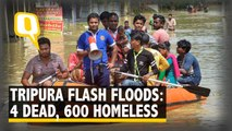 At Least 4 Killed in Tripura Flash Floods, More Rains Expected