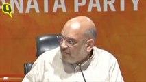 BJP President Amit Shah attacks Congress ahead of swearing-in in Karnataka