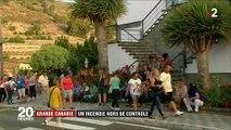 Incendie à Grande Canarie : des milliers d'hectares partis en fumée et des centaines d'évacuations