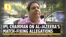 Rajeev Shukla on Match-Fixing Claims Made By Al-Jazeera
