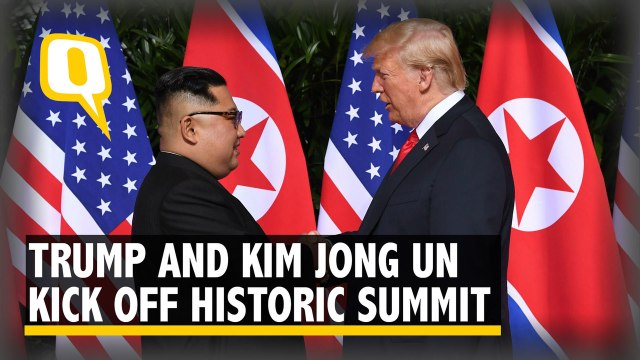 Trump and Kim Finally Meet, Months After Trading Insults
