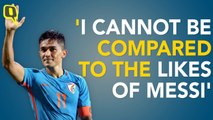 Cannot be Compared to the Likes of Lionel Messi: Sunil Chhetri