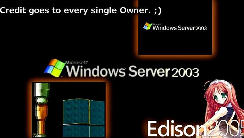 [REU¨PLOAD] {2011 Style} Microsoft Windows Server 2003 Animation has a Sparta Siemens Remix!