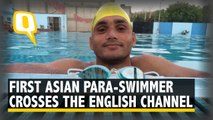 First Asian Para-Swimmer from Gwalior Crosses the English Channel