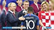 International : Vladimir Poutine rend visite à Emmanuel Macron à Brégançon
